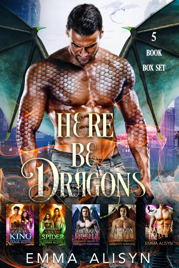 Here Be Dragons Ebook Cover